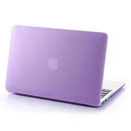 capa de dobramento floral mini ipad Desconto Caso protetor New Matte fosco de plástico rígido para 11 12 13 15 polegadas Macbook Air Pro Retina Laptop Cristal emborrachado capa protetora Shell