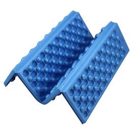 Wholesale Foam Seat Pads - Wholesale- 1 PC Foldable Folding Camping Mat Foam Cushion Portable Waterproof Outdoor Camping Seat Mat Camping Chair Picnic Mat Pad 4 Color