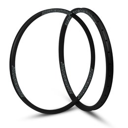 "Wholesale Mountain Bike Tubeless - hulksports Cross Country 28mm Width Carbon Fiber 29"" MTB Clincher Rim Hookless Tubeless Compatible Asymmetric rim"