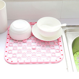 Wholesale Security Pads - Kitchen Fruit Vegetables Filtration Drain Pad PP security Environmentally friendly Insulation pad Cup Mat Dining table mat