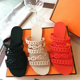 Wholesale Leather Cover Wood - 2017 NEW Style Summer Fashion Women Sandals Flats Jelly Shoes Slippers Lady Beach Casual Flip Flops