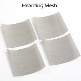 steel netting Coupons - Heating Mesh Heating Net Nickel Mesh For RDA 316 L Stainless Steel Heating Coil 5 Sizes DIY RDA Coils Fit CETO RDA