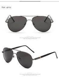 Wholesale Vintage Glass Frog - Sunglasses Men 2017 New Unisex Sunglasses Women Brand Designer Sun Glasses Men Vintage Sunglass Frog mirror polarized sunglasses