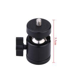 "Wholesale Mini Ball Head Camera Mount - Andoer Q29 Mini Ball Head   Ballhead 1 4"" Mount for Camera Tripod for SB800 SB900 580EX II vidicon Flash Maximum Load 2kg"