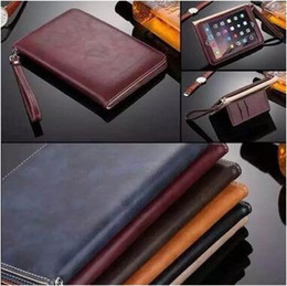 Wholesale Mini Ipad Hand Holders - High Quality Hand Holder Design Leather Case For ipad Speaker Amplifier Cover Stand for ipad mini CCA5635 60pcs