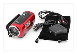 """16MP Dijital Kamera 16X Dijital Zoom Darbeye Dayanıklı 2.7 """"SD Kamera Kırmızı / Siyah C6 nereden gizli ip güvenlik kameraları tedarikçiler"""
