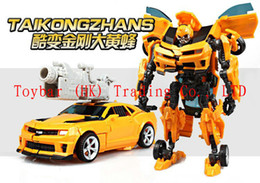 Wholesale Transformation Robot Bumblebee - Hot Sale 2016 Transformation BUMBLEBEE Deformation Toy Robots Brinquedos Action Figures Toys Classic Toy for kids