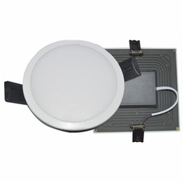 Wholesale Recessed Lights Bathroom - Integrate 8W 16W 22W 30W Led Lights Panel Lamp CRI>85 SMD 4014 High Quality Led Recessed Downlights Kitchen Bathroom