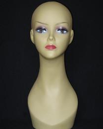 Wholesale Female Mannequin Head Display - Freeshipping 1PC Wig hat display Female mannequin hair head stand,jewelry mannequin tete a coiffer pour perruque,mahekebi paspop,M00517