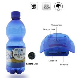 Wholesale Hidden Camera Water - 32GB Water Bottle Camera 1080P HD Portable Plastic Drinking Water Bottle Hidden Spy Camera Super Covert Nanny Cam