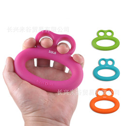 Wholesale Finger Strength Exercise - Hand Grips Grip Strength Rehabilitation Hand Training Device The Elderly Play Environmental Protection Profession Finger Exercise Odor 7 5c