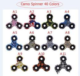 Camo HandSpinner bouts de doigts Spirale Doigts Fidget Spinner EDC Spinner à la main Acrylique Plastique Gyro Jouets Camouflage Avec Retail Box vs Métal LED ? partir de fabricateur
