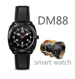 Wholesale Lenovo Smartest Phone - DM88 Smart Watch Clock sport smartwatch for ios and andriod phone and huawei xiaomi lenovo htc sony pk A1 U8 DZ09 IWO GT08