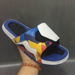 Wholesale Basketball Sandals - Fashion Retro 12 slippers sandals Hydro IV Retro 4s Slides black Free shipping men basketball shoes casual shoes outdoor sneakers size 7-12