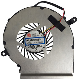 Wholesale Original Msi Laptop - Wholesale- New Original Gpu Cooling Fan For MSI GE62 GE72 PE60 PE70 GL62 GP62 PAAD06015SL N302 Laptop Cooler Radiators Cooling Gpu Fan