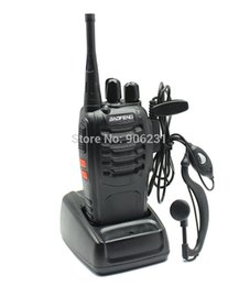 Wholesale Portable Radio Transceiver - Wholesale-Free Shipping!BaoFeng 2 Way Radio BF-888S BF888S walkie talkie UHF 400-470MHz 16CH FM Transceiver CTCSS with earpiece