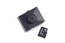 Wholesale Police Recorders - HD 1080P button wide-angle camera super mini secret body police secret spy camera mini hidden pinhole recorder camcorder