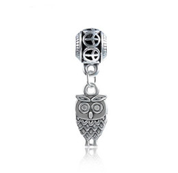 f5ec03ca0 Fit Pandora Charm Bracelet European Silver Bead Charms Cute Night Owl  Dangle 925 Beads DIY Snake Chain For Women Bangle & Necklace Jewelry