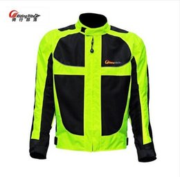 Wholesale Summer Motorbike Jackets - Riding Tribe Motorcycle Reflective Jacket Suit Summer dirt bike motocross Racing jackets motorbike protective clothing jersey