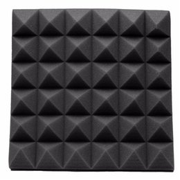 Wholesale Newest Fireproof Studio Acoustic Soundproof Foam High Density cm Sound Absorption Treatment Panel Tile Wedge Protective Sponge