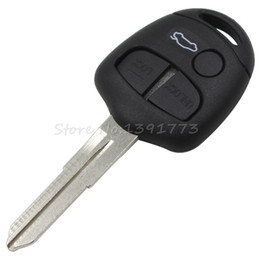 Wholesale Outlander Key - car Replacement 3 Buttons Remote Key Shell For Mitsubishi Lancer Outlander Colt Mirage