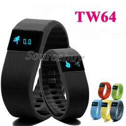 Wholesale Cheapest Wristbands Wholesale - Cheapest TW64 Smart Bracelet Bluetooth Smart Wristbands Waterproof Passometer Sleep Tracker Call Reminder Sport Band for iphone IOS Android