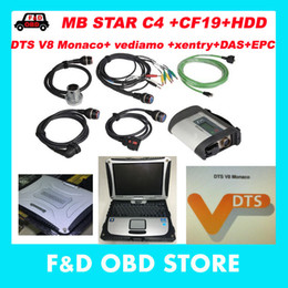 Neue mb star diagnose online-Neu V2017.07 MB Star C4 + CF19 + Monaco8 + Vediamo / DTS HDD Xentry Diagnosesystem Compact 4 Mercedes Diagnosis Multiplexer Für Benz