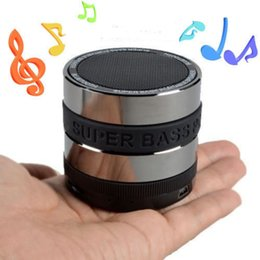 Wholesale Speaker Wireless Tablet - Bluetooth Wireless Speaker Mini Portable Super Bass Music Box For Smartphone iPhone 7 Laptop Tablet MP3 PC