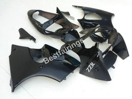 Wholesale Kawasaki Ninjas For Cheap - Cheap injection mold 100% fit for Kawasaki Ninja ZX6R 00 01 02 black fairings set ZX6R 2000 2001 2002 TY28