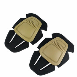 Wholesale Pants Knee Pads - Tactical Paintball Soft Knee Protector G3 Combat Pants Knee Pads Hunting Equipment AE001