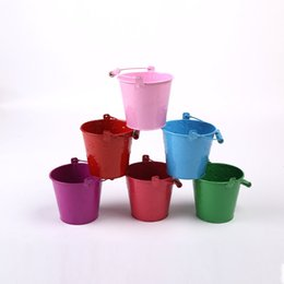 Wholesale Star Sports Wholesale - trumpet Candy Color Small Drum Children Sandy Beach Toys Barrel Gardening Technology Mini- Colour Small Sandy Beach Drum Toys