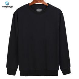 Wholesale Wholesale Street Wears - Wholesale- Fashion Design Cotton Solid Black Gray Mens Long Sleeve Hoodies Mens Hip Hop Hoodies to Street Wear Style Harajuku Sweatshirt