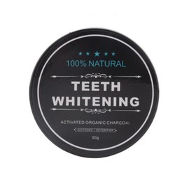 Wholesale Wholesale Whitening Toothpaste - Tooth Whitening Nature Bamboo Activated Charcoal Smile Powder Decontamination Tooth Yellow Stain Bamboo Toothbrush Toothpaste Oral Care