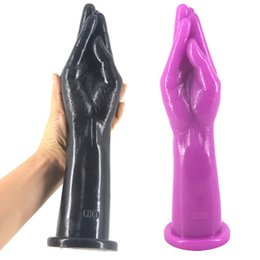 Wholesale Dildo Insert - Fist Dildo Arm Fisting Big Anal Plug Insert Stopper Erotic Toys Stuffed Dildo Hand Dildo Anal Dilatation Sex Shop Anal Sex Toy H8-2-29