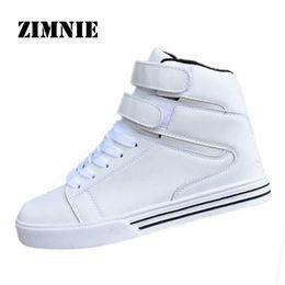 Wholesale Popular Boots For Men - Wholesale-ZIMNIE 2016 Men Boots Fashion Warm Cotton Brand Casule Popular Ankle Boots Shoes Men For Spring Autumn pu Leather Winter Shoes
