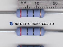 Wholesale Resistor Metal Film Ohm - Wholesale- Free ShippingDetails about 20 Ohm 5% 2 Watt Metal Oxide Film Resistors (50 pcs)
