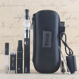 Wholesale Ago Vape - Top eVod 4 In 1 Vaporizer Starter Kits Wee Vape Pens Kit Vape Cartridges MT3 Oil Ago Dry Herb Glass Wax Vapes Kit 510 Evod Batteries