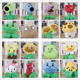 Wholesale Plants Zombie Plush - 16 Style 15-17cm Plants Zombies Plush Doll P & Z Stuffed Plants Toy For Child Gifts