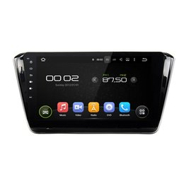 "Wholesale Dvd For Skoda Octavia - 10.1"" HD 1024*600 Android 6.0 Car MP3 Radio GPS Stereo Navigation Player without Car DVD for Skoda Octavia 2014 2015 2016"