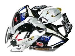 Wholesale Gsxr New Fairings - New Fairings Bodywork Fit For SUZUKI GSX-R750 GSX-R600 GSXR750 06 07 GSXR600 R600 R750 K6 GSXR 600 750 2006 2007 Fairing black white VIRU