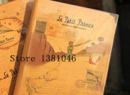 Wholesale Little Notebooks Wholesale - Wholesale- The Little Prince Vintage Diary Paper Notebook Le Petit Planner Notepad Composition Book Sketchbook Cahier Journal