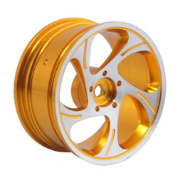 Wholesale Rc Car Rims Drift - RC Rim 131 Gold Aluminum Wheel 52mm For HSP Sakura HPI 1:10 On-Road Drift Car