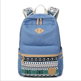 Wholesale Blue Toddler Backpack - New brand Backpack 2017 fashion Children School Bag Cute Baby Toddler Canvas Shoulder Bags for boys girls mochila feminina