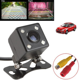 Wholesale Parking Back Camera - Universal IP67 Waterproof Rear View Camera LED Car Back Reverse Camera RCA Night Vision Parking Assistance Cameras