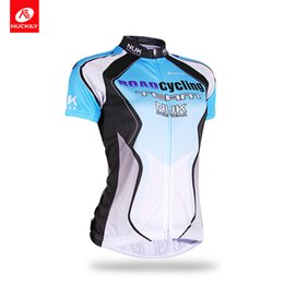 Wholesale Ladies Shirt China - Nuckily High quality advanced technologies cycling jersey for women China whloesale quick dry ladies' short sleeve jersey AJ212