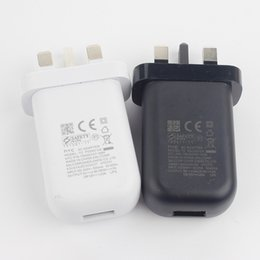 Wholesale Cell Phone Quick Chargers - Cell Phone Chargers Original HTC one m10 hTC 10 Rapid Charging Quick 3.0 UK Plug Wall Charger