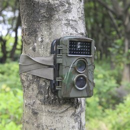 Wholesale Night Wildlife Cameras - Hot Waterproof 12MP Trail Hunting Camera Scouting Digital Wildlife Camera Infrared Trail 1080P Trap Infrared Night Vision DHL Shipping