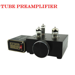Wholesale Integrated Tube Amplifiers - Freeshipping New MATISSE AMP DC12V 2A Bile Preamp tube preamp Buffer 6N3 5670 TUBE Pre amp HIFI Audio TUBE Preamplifier +Power Supply