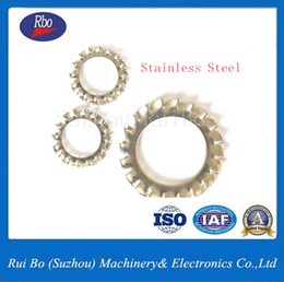 Wholesale Wholesale Lock Suppliers - China Supplier ODM&OEM Stainless Steel Fastener DIN6798A External Serrated Lock Washer with ISO