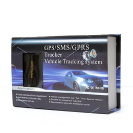Wholesale Gps Tracker Geo Fencing - Wholesale 20pcs lot 100% Coban GPS103B Tk103B Real Time Geo-Fence Alarm GSm GPS Mini Car Tracker With Retail Box
